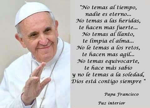 Frases Bonitas Frases Para Papa Frases Religiosas Papa Francisco Frases