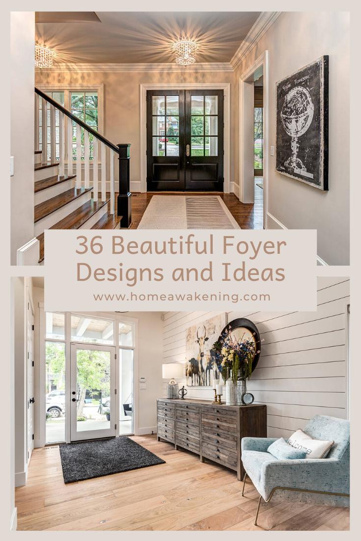 36 Beautiful Foyer Designs And Ideas Foyer Design Home Decor