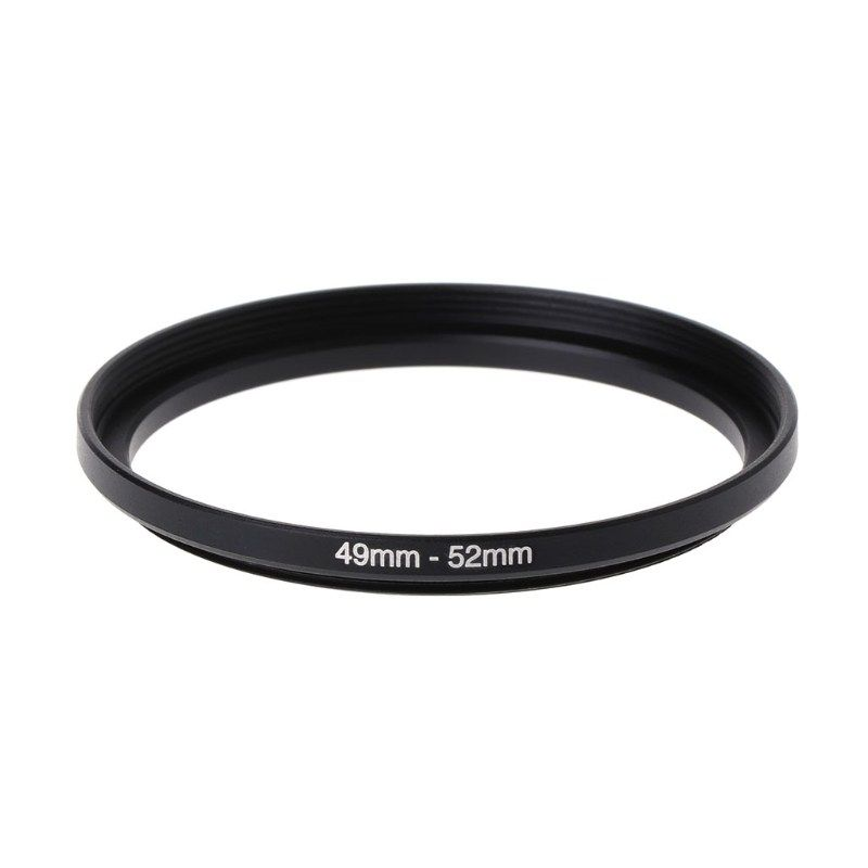 49mm To 55mm Metal Step Up Rings Lens Adapter Filter Camera Tool Accessories New