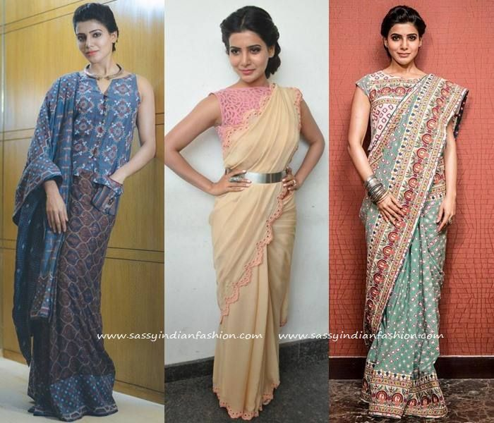 5bb8b235d3b6f Samantha Saree Style  35 Fabulous Sarees Flaunted by Samantha ...