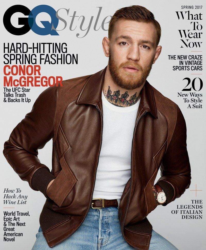3f4b0024235 Conor McGregor Shares the Keys To His Success and Wears the Season s ...
