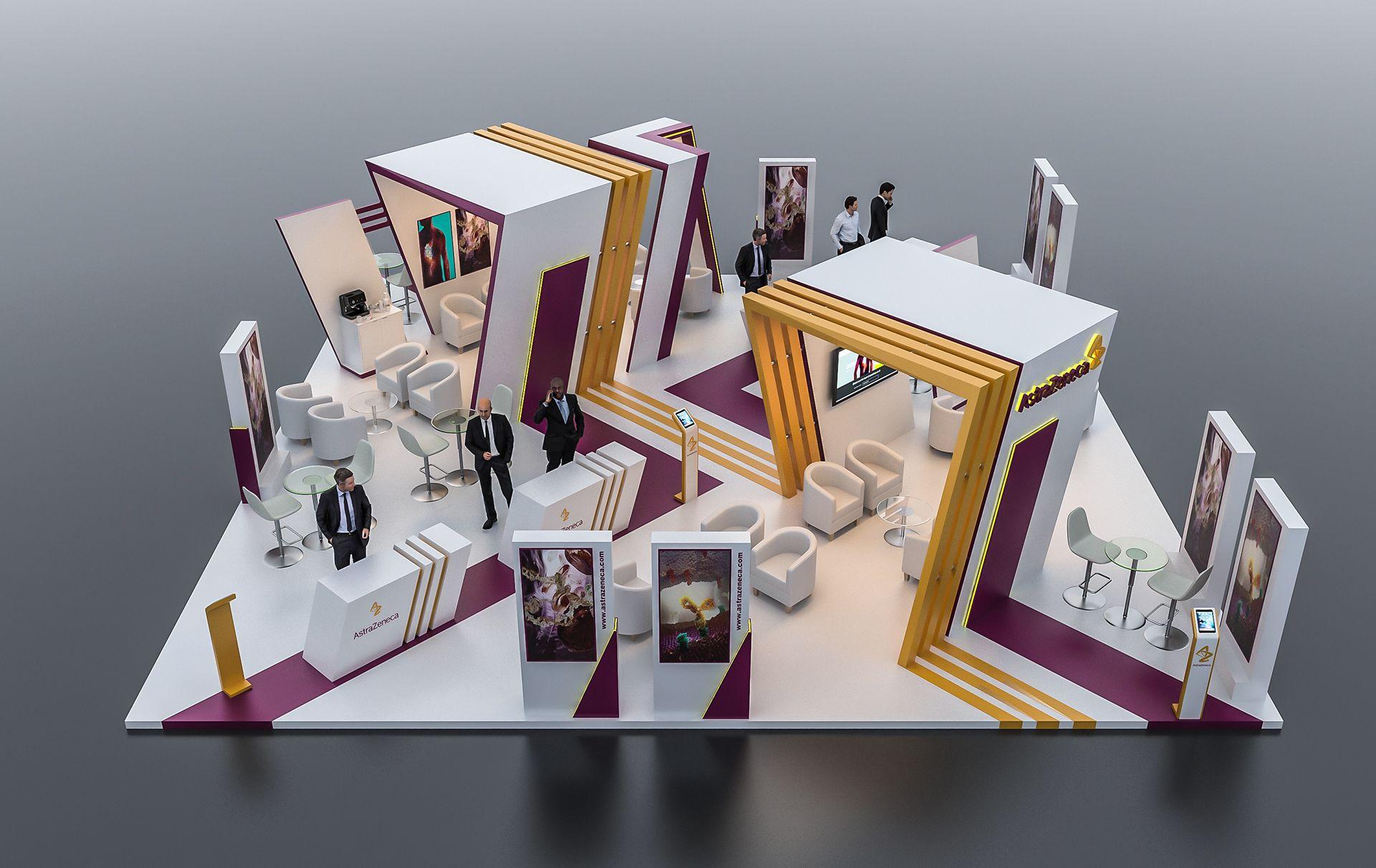 Astrazeneca Exhibition Booth Dubai On Behance Exhibition Booth Exhibition Exhibition Stand