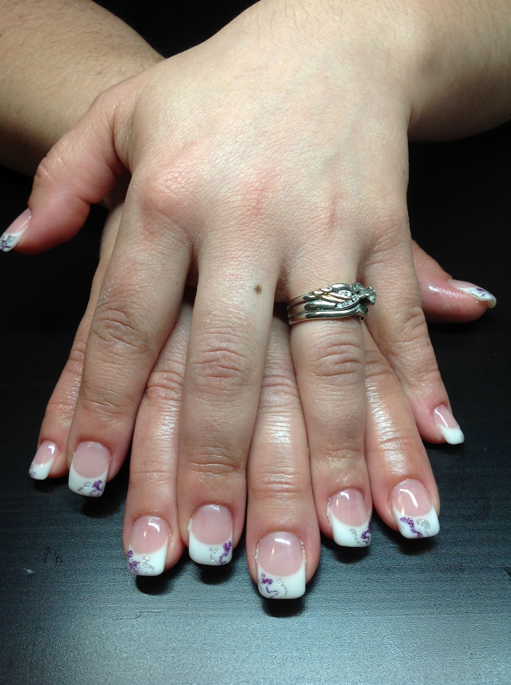 French twist gel nails, all done with Amore gel. | Nails by Alison ...