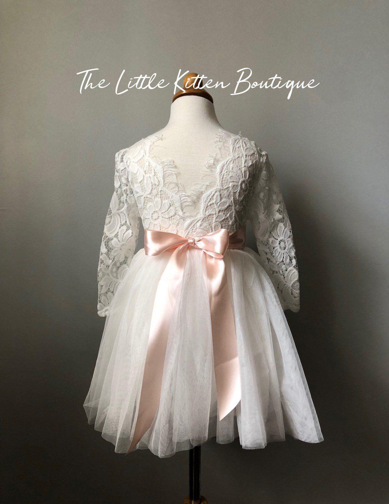 22258710cd8 Tulle Flower Girl Dress