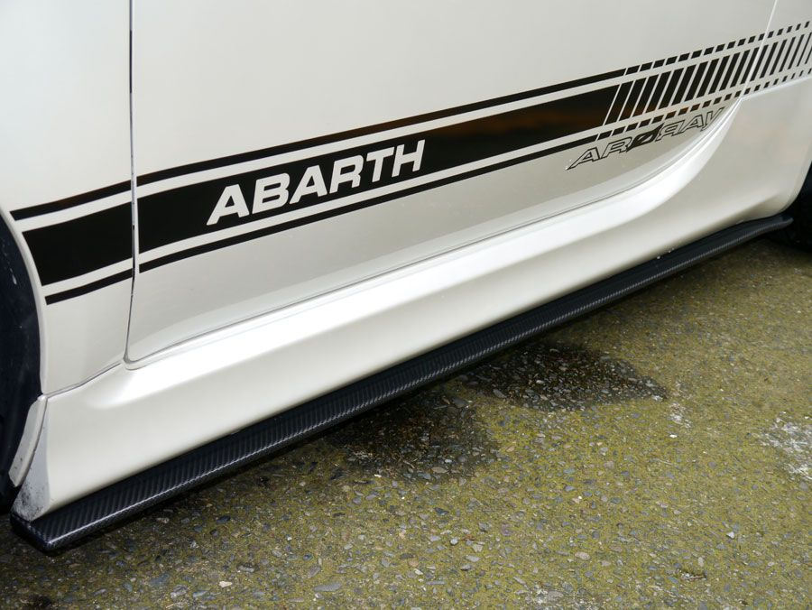 2012 2015 Abarth Arqray Side Skirt Extensions With Images