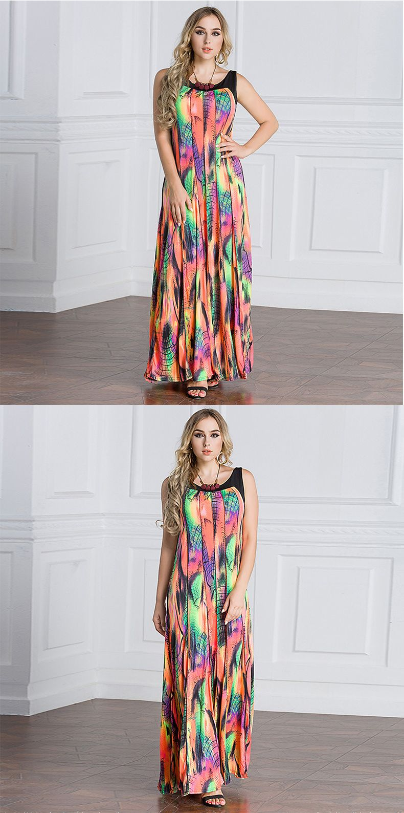 Colorful Summer Maxi Dresses