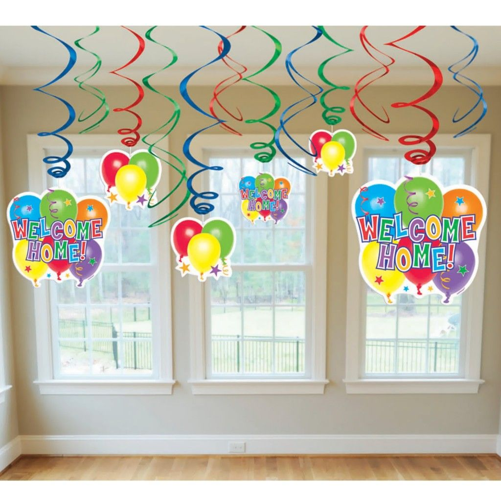 Welcome home baby decoration ideas for Welcome home decoration ideas