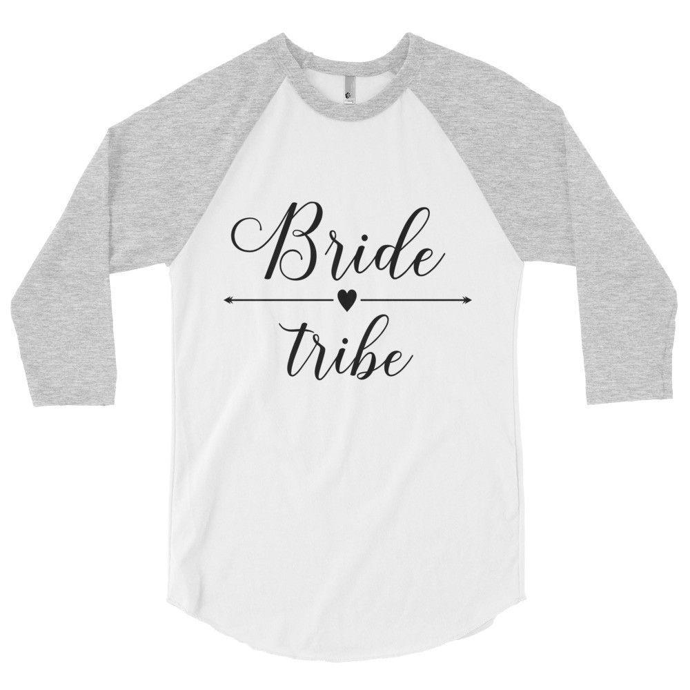 Bride Tribe 3/4 Baseball Tee