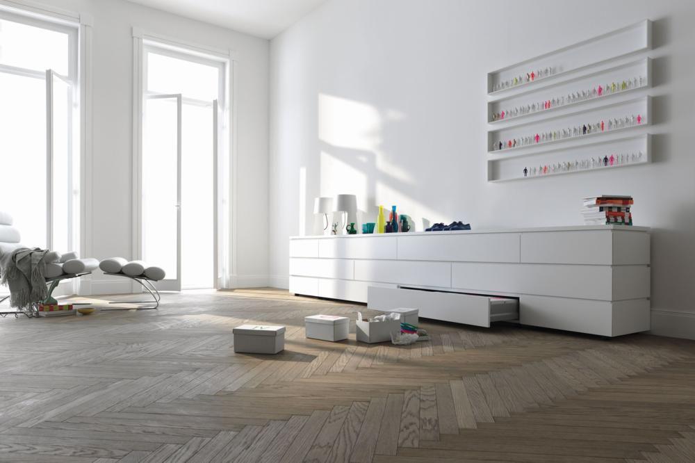 Schön Sideboard Wohnzimmer Weiß