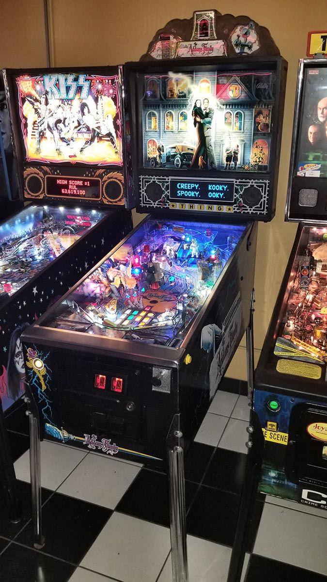 Buy Addams Family Refurbished Pinball Machine Online At 9495