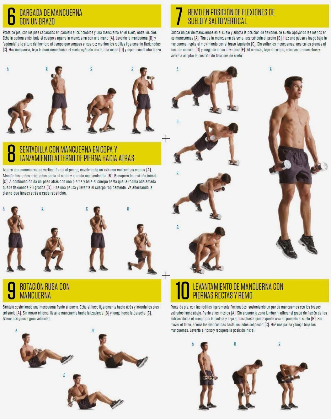 B. EL PLAN DE FLACO A FUERTE   Aptitud Fitness