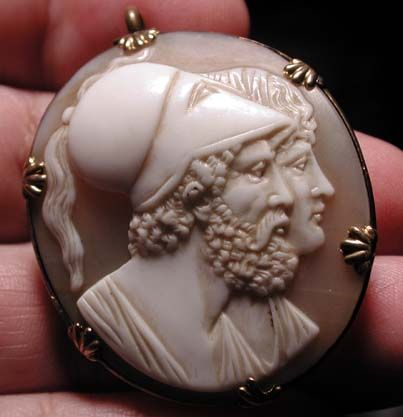 Perseus And His Wife Andrometer Cira 1850 Beautiful Cameo Cameo Contrasting Colors