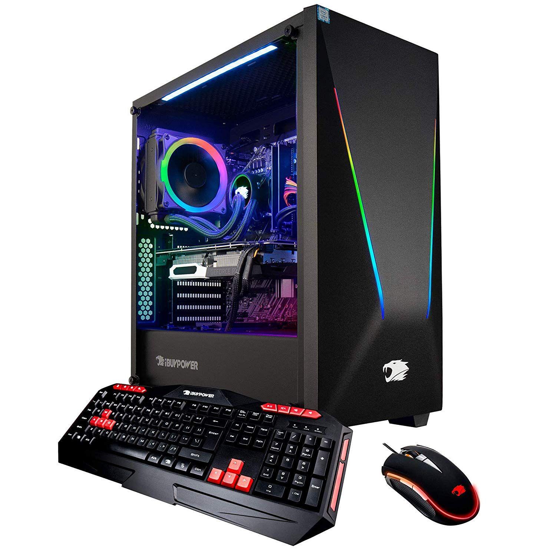 Ibuypower Pro Gaming Pc Computer Desktop Intel I7 9700k 8 Core 3 6