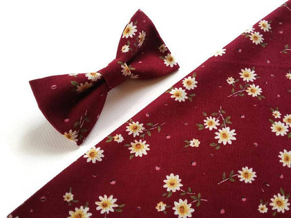 Baby Kids Boy Eggplant Purple Red Velvet Leather Bowtie Bow Tie 1 to 6 Years Old