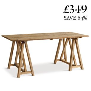 The Dylan: the mid-century modern style table for only £349 Dreaming!!!!!!!!