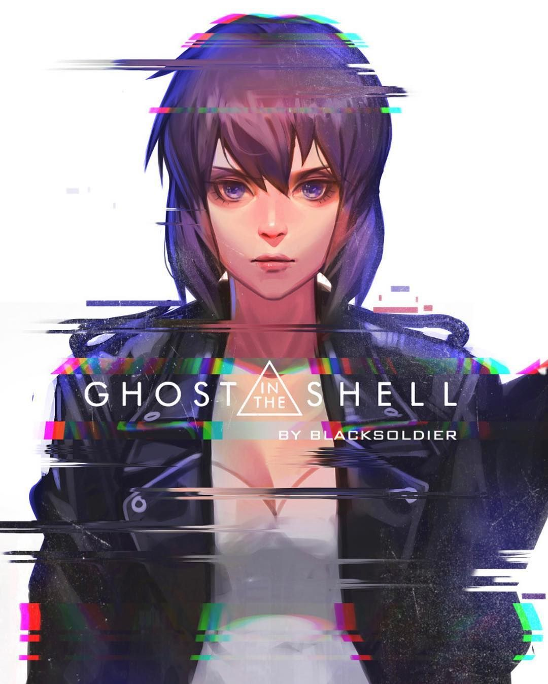 Cyberpunk Neon Urban On Instagram Motoko And Batou Who Is Your Favorite 1 Or 2 Ghost In The Shell Art By Blac Ghost In The Shell Anime Cyberpunk Art