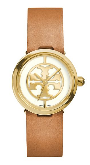 068ad58ed Classic Gifts: Tory Burch Reva Watch | Gift Guide | Leather luggage ...
