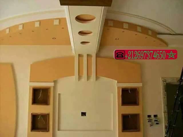 ديكورات الجبس العصري المغربي اشغال الجبس والديكور المنزلي Ceiling Design Design Ceiling