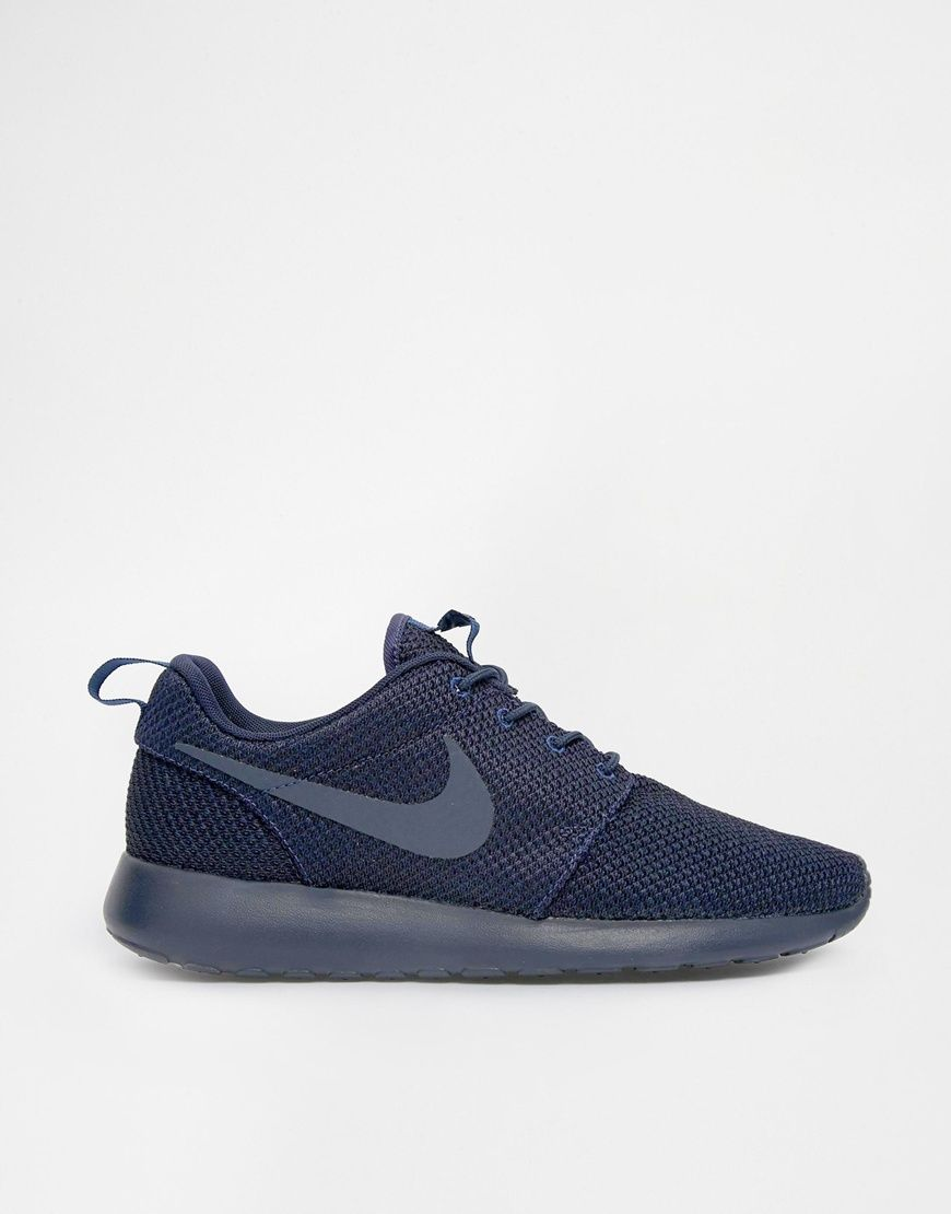 Nike Roshe Run  Navy Blue  5f8cbde0f