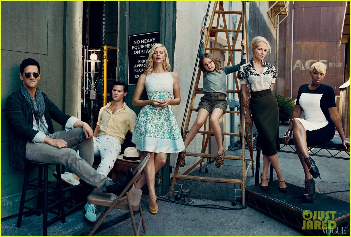 Andrew Rannells Justin Bartha New Normal Cast Vogue