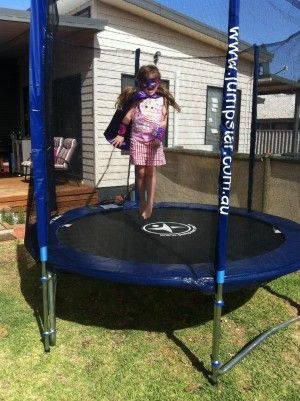 Little Jump Stars! Jump Star 8Ft Trampoline With Enclosure
