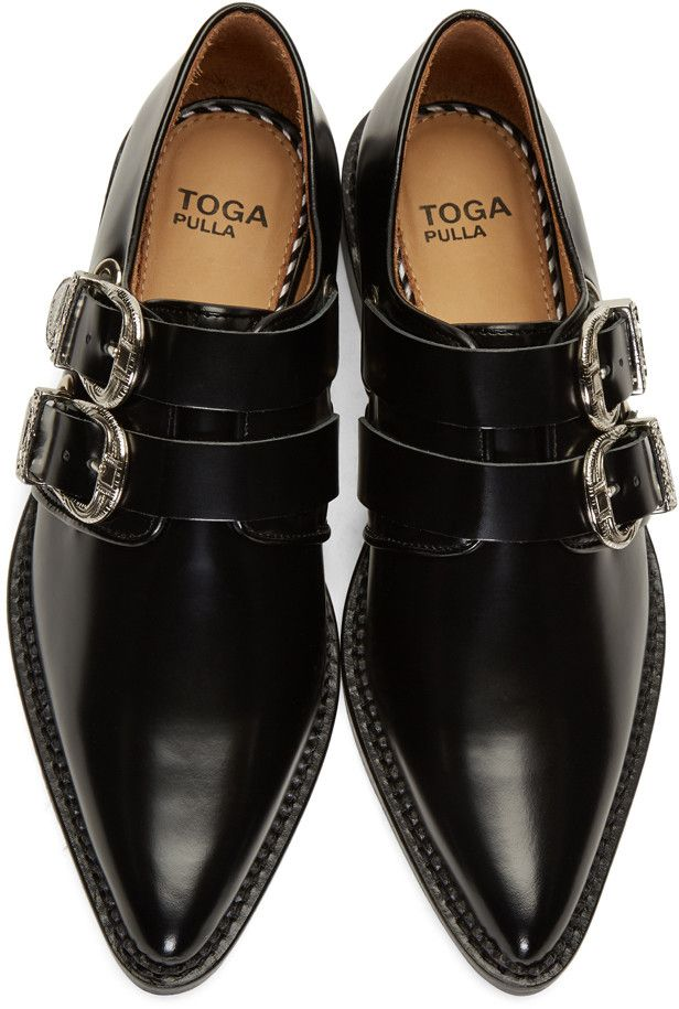 buckled pointed loafers - Black Toga Archives KoWYgmhq