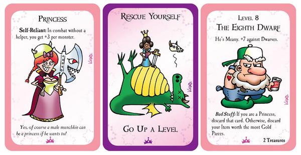 Steve Jackson Games Munchkin Princesses Card Game