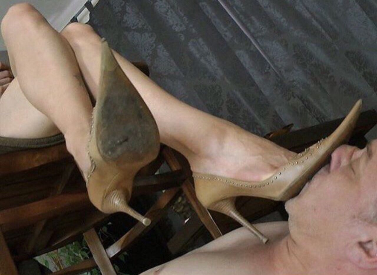 Lick them clean before they trample you.