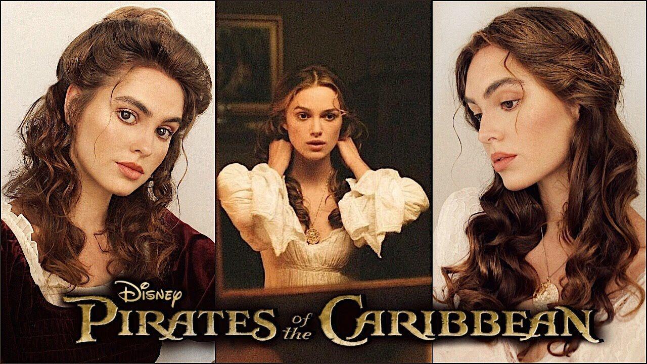 Elizabeth Swann Pirates Of The Caribbean Hairstyles Jackie Wyers Youtube Hair Styles Pirate Hair Elizabeth Swann