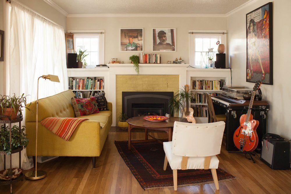 A Cozy & Eclectic Portland Bungalow #cozyliving