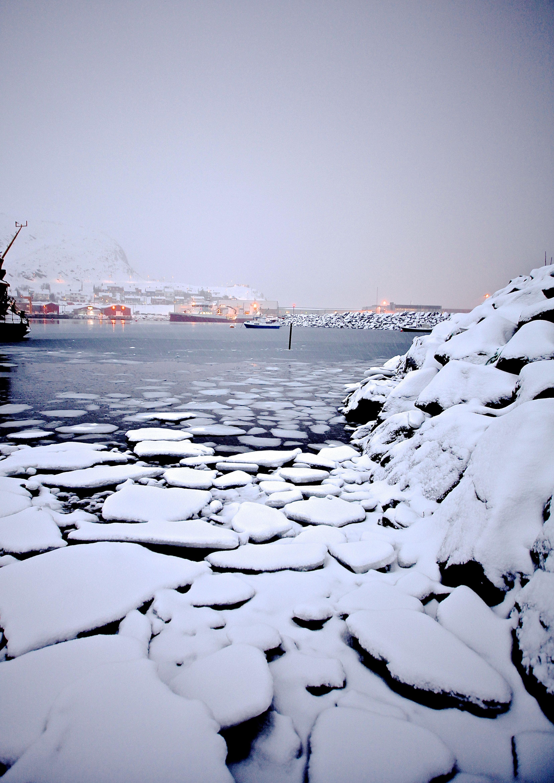 Snow in Hammerfest, Norway Photo: Elisabeth Johnsen