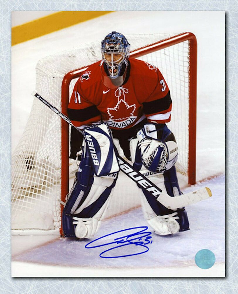 Curtis Joseph Team Canada Signed 2002 Salt Lake Olympic