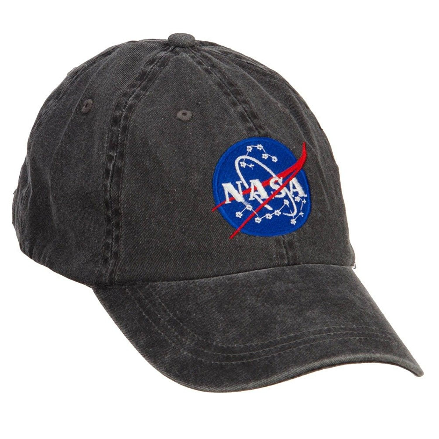 Men Women NASA Embroidered Baseball Trucker Hat Adjustable Snapback Cotton Cap