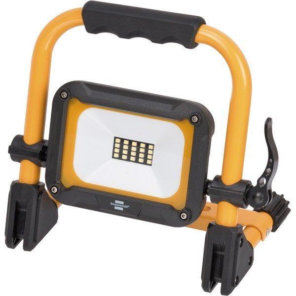 Projecteur Led Sur Batterie 1000 Lumens 10 W Noir Jaune Brennenstuhl Projecteur Led Projecteur Et Led