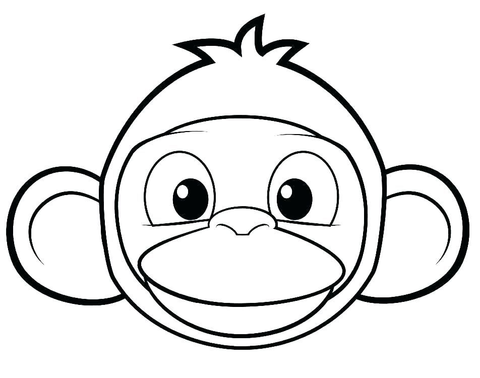 Monkey Coloring Pages For Kids Free Coloring Sheets Monkey Coloring Pages Turtle Coloring Pages Monkey Face