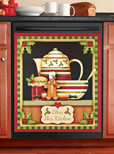 Best Kictchen Rugs Gingerbread Kitchen Dishwasher Magnet Want Additional Info Click On The Image It Is Affiliate Link Ilike