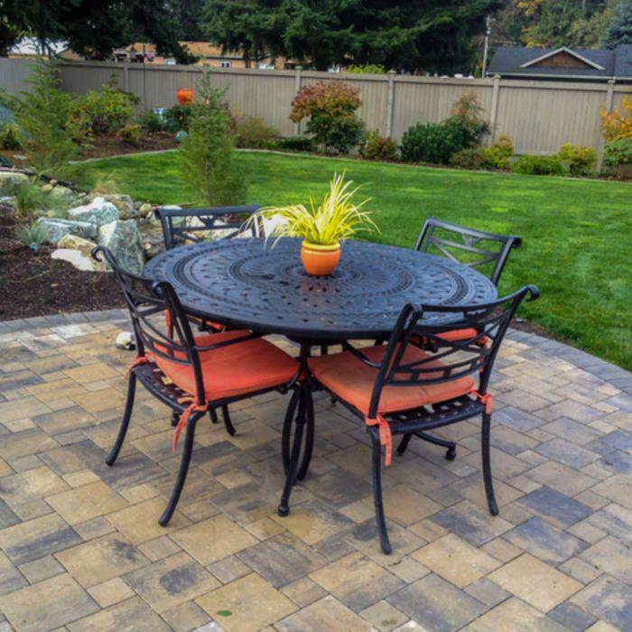 20 Stunning Stone Patio Ideas For Your Garden Http Tyuka Info 20 Stunning Stone Patio Ideas For Your Garden Gauge Th Paver Patio Brick Paver Patio Patio