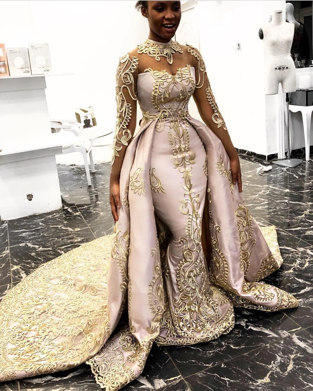 Inspired Wedding Dresses Of Couture Bridal Designs Plus Size Formal Dresses Detachable Train Wedding Dress Piece Prom Dress [ 1349 x 1080 Pixel ]