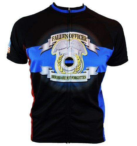 519da4056 Fallen Police Officer Cycling Jersey Medium -- To view further for this  item