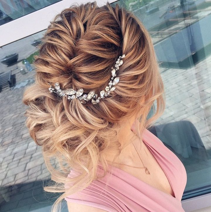 Messy Updo Hairstyles Glamorous Beautiful Loose Updo Hairstyle To Inspire You  Wavy Updo Messy