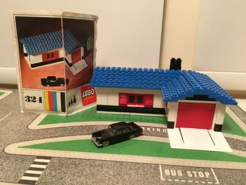 House Garage Lego 2 1964 220s Original Mint 324 Vintage Mercedes jUpqSVLMGz