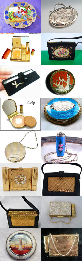 Compact and complete from Vintage Vogue Team by Lisa Schwartz on Etsy