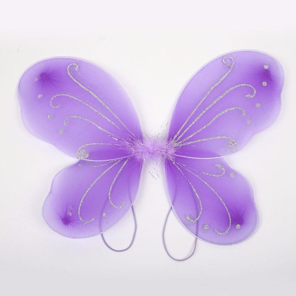 96d0530e75 Adult Butterfly Wings Costume 42 31cm Beautiful Elf Fairy Wing ...