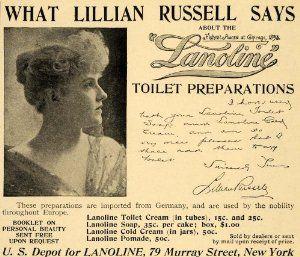 Lillian Russell Furniture Amazon Com 1895 Ad Lillian Russell