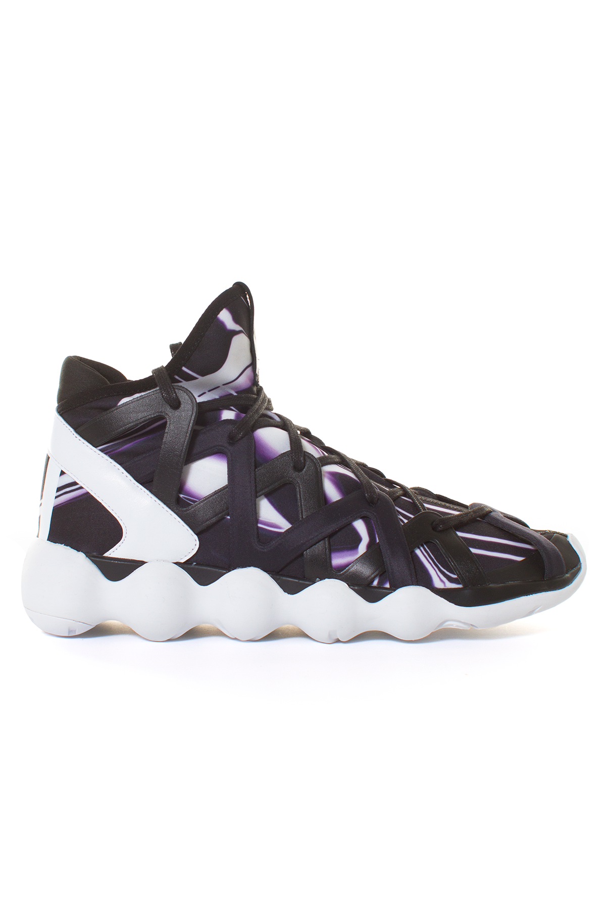8923f5f26e72 ADIDAS BY Y-3 KYUJO HIGH Lace-up high tops with print. Made in China ...
