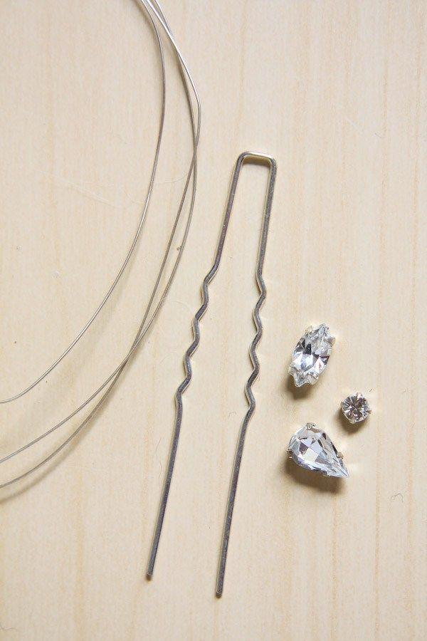 Diamante-Hair-Pins-DIY-Tutorial-1.jpg (600×900)