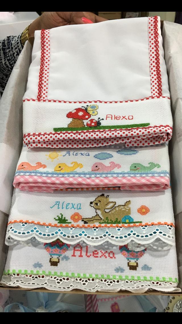 Panales Bordados Para Bebes.Panales Bebe Punto De Cruz Costura De Bebe Bordados Para