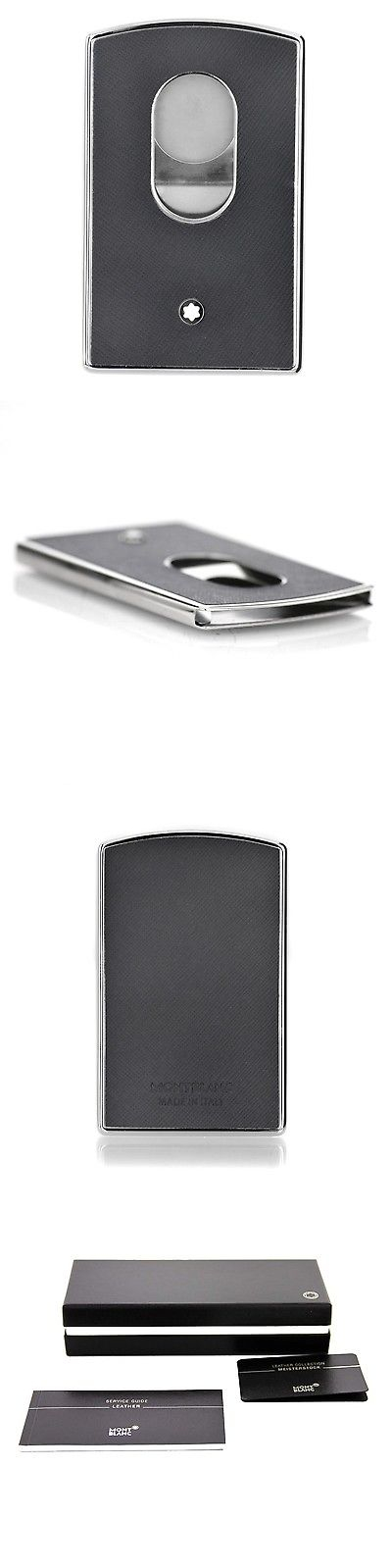pretty nice 5de34 70152 Business and Credit Card Cases 105860: Montblanc Sartorial Hard ...