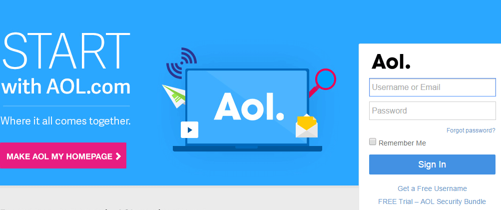 How To Login Aol Email Aol Email Email Password Recovery Mail