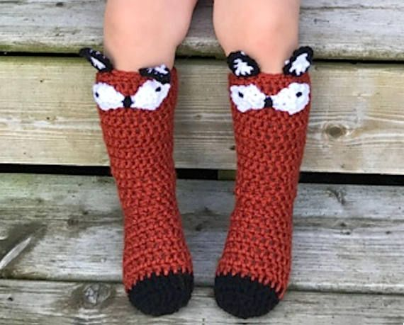 PDF crochet pattern for fun whimsical sock collection. Pattern ...
